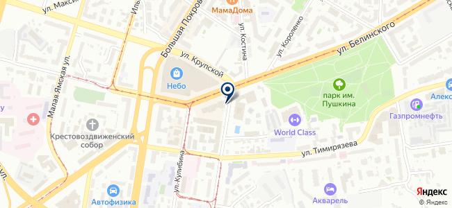 Специнжэлектро на карте