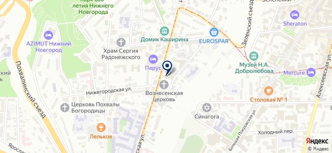 СЕМАКС Групп на карте