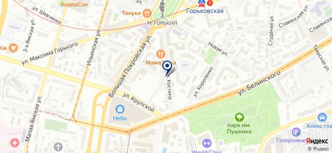 Аура Сити НН на карте