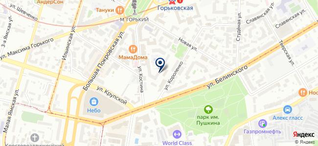 Нижкабель на карте