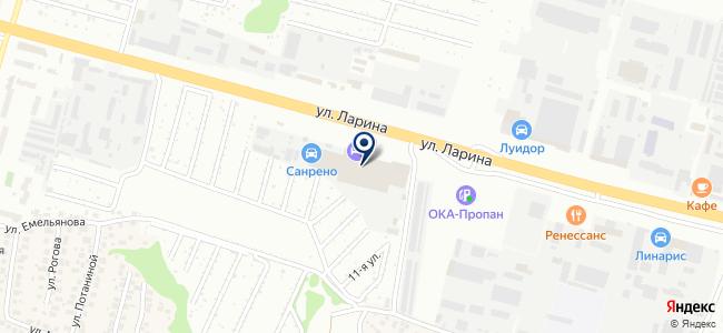 Электроремонт НН на карте