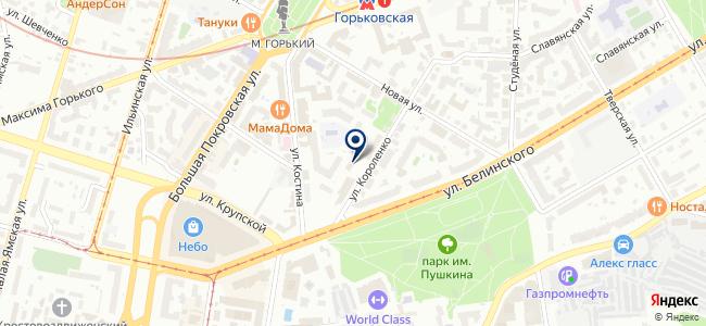 Мет-Профит на карте