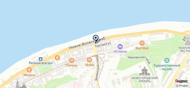 ЭФО на карте