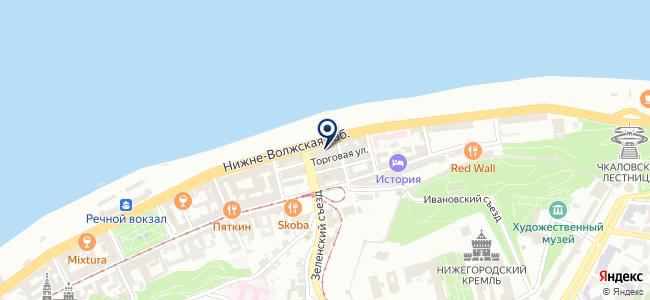 ВЭН на карте