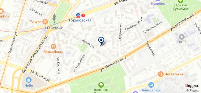 ЦЭК, ЗАО на карте