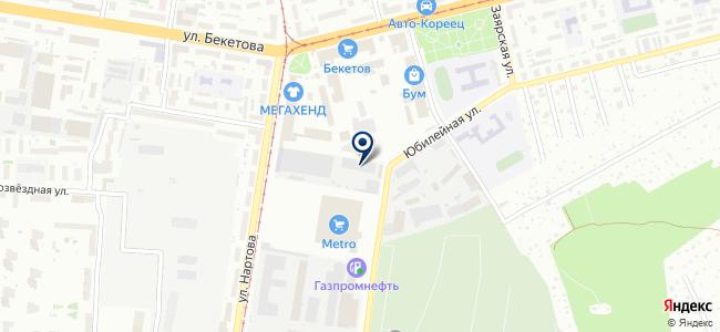 Интермодуль на карте
