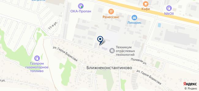 Концепт Электро на карте