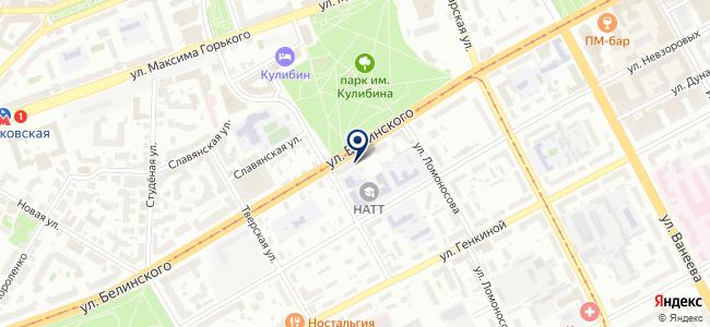 Светильники и сантехника на Белинке на карте
