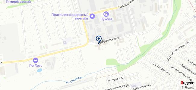 Винчи, ООО на карте