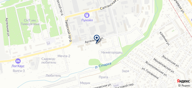 Фарнел на карте