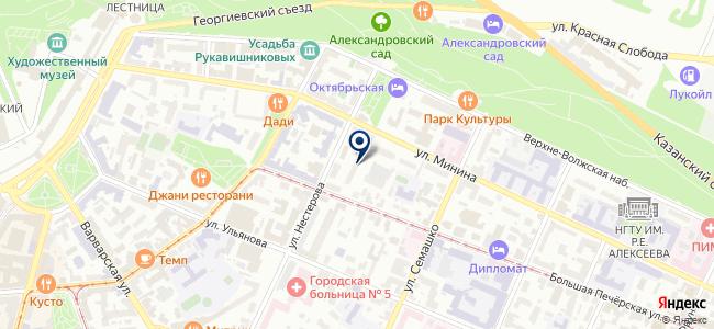 Максимум-НН на карте
