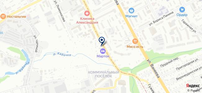 Блюзмобиль на карте