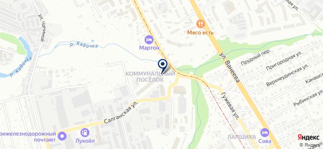 Элеон на карте