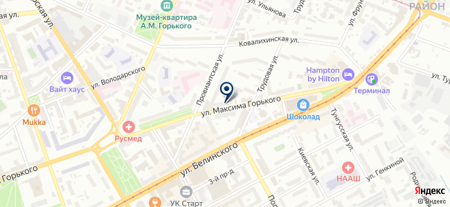 Бригадир на карте
