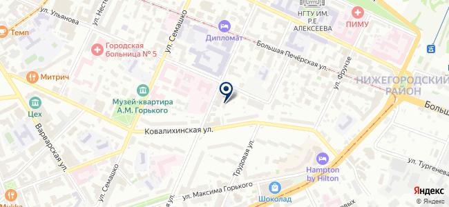 Поволжье-НВ на карте
