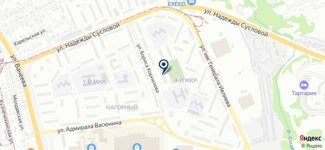 ЛинВест на карте