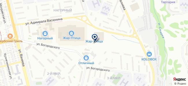 Сигнал, ООО на карте