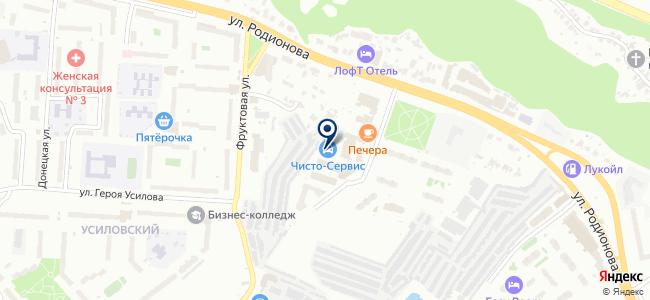 Сети-Телеком на карте