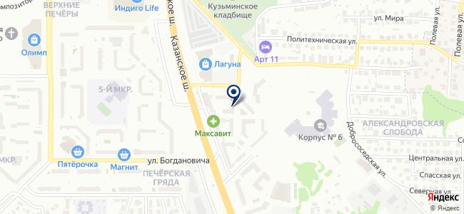 Нижегородский Энергосоюз на карте