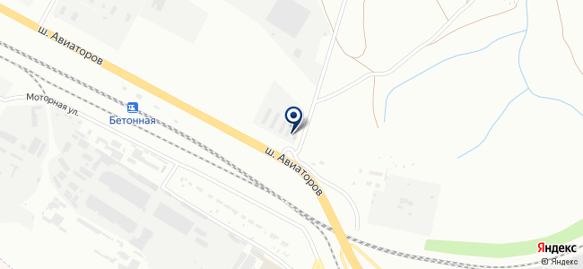 Электроагрегат, ЗАО на карте