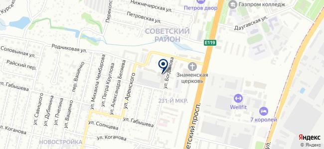 Инвест-Сервис, торговый дом на карте