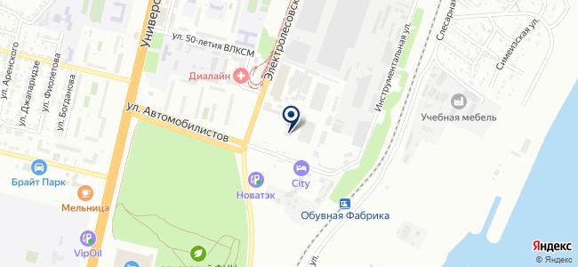 Волгоградское областное ПАТП-4 на карте