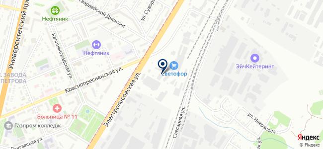 Москит-2 на карте
