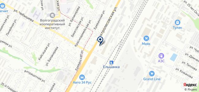 Дизар Юг на карте
