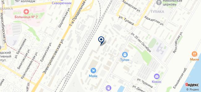 МонтажЮг, ООО на карте