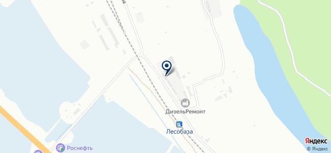 Промтехналадка на карте