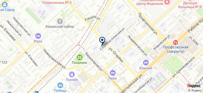 Волгоград-Восток-Сервис на карте
