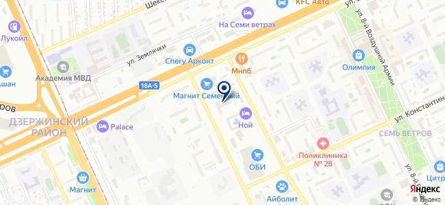 Festool на карте