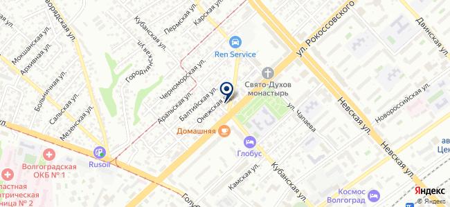 Меркурий, ООО на карте