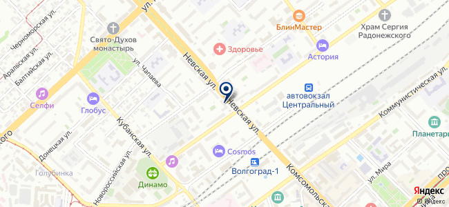 Светомаркет на карте