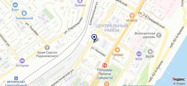 Интери на карте