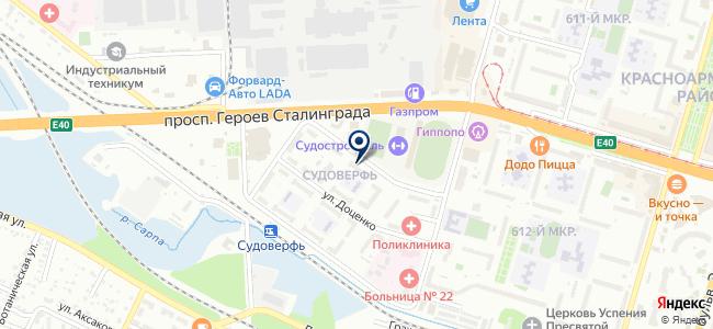 Стройхозторг на карте