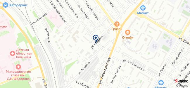 Дом Сад на Алехина на карте