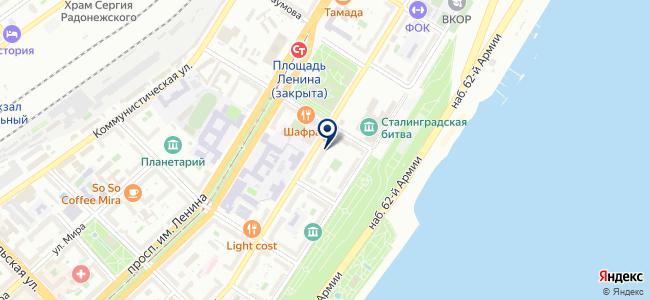 Анс Волгоград на карте