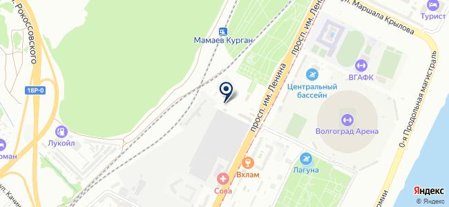 Автовектор на карте