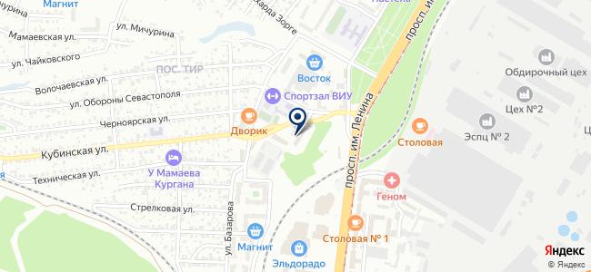 Интра Тул Волга на карте