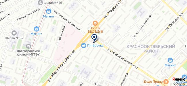 Магазин электротоваров на ул. Генерала Штеменко, 43 на карте