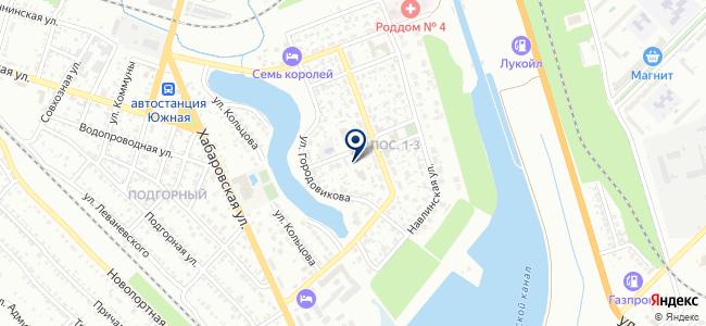 Волгоградские межрайонные электрические сети, МУПП на карте