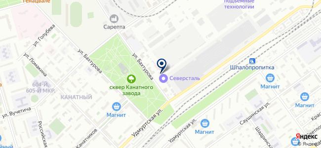 ПромТехСервис, ООО на карте