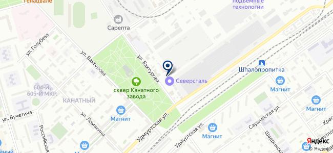 Синтез М, ООО на карте