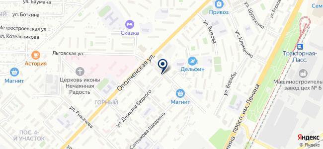 Магазин электроустановочной продукции на ул. Батова, 6 на карте