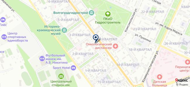 Волгарус на карте
