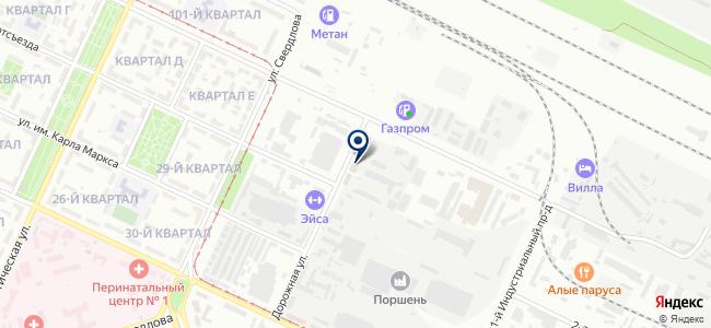 Термо Волгоград на карте