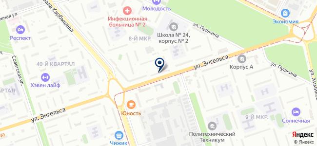 АкваДом на карте