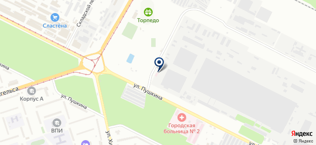 Мера, ООО на карте