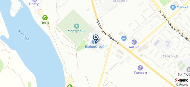 ДоброСтрой на карте